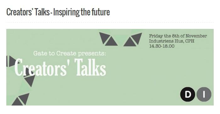 Creator's Talk 2013: Gate to Create samlede de studenterdrevne iværksætterorganisationer