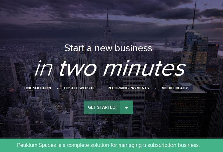 Peakium Spaces – Start en virksomhed på 2 minutter