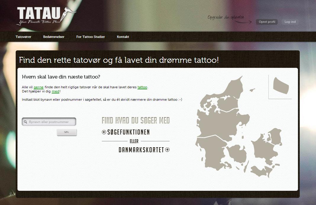 Tatau.dk sætter sig på tatoveringsmarkedet