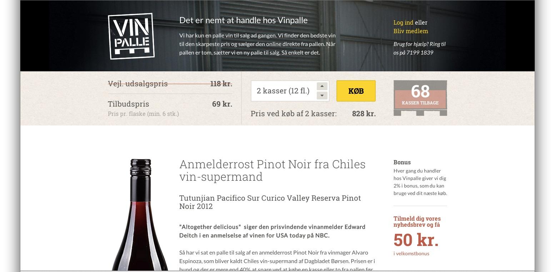 Vinpalle.dk – Direkte fra pallen til forbrugeren