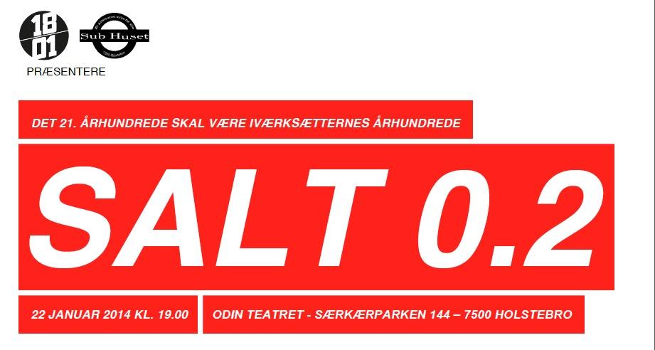 Salt 2.0 – iværksætterambitioner i Holstebro