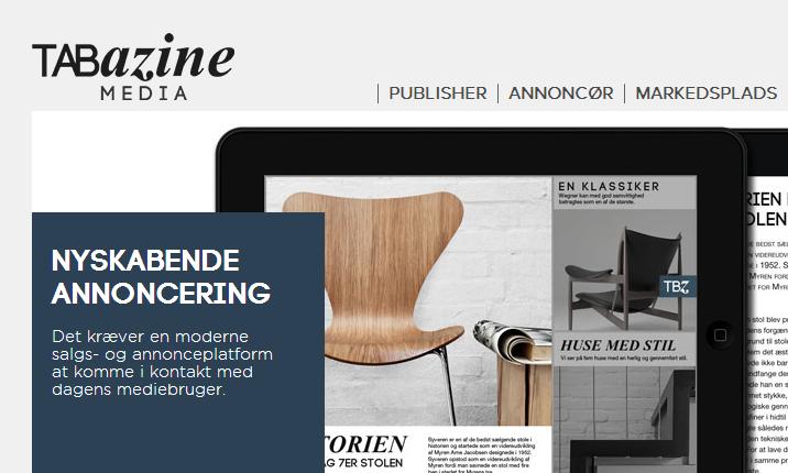 Tabazine: Digitale magasiner uden brugerbetaling