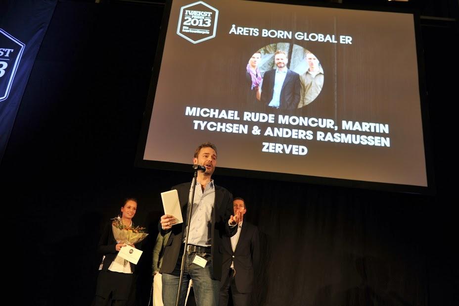 Vinderen af IVÆKSTprisens Born Global 2013 i vækst