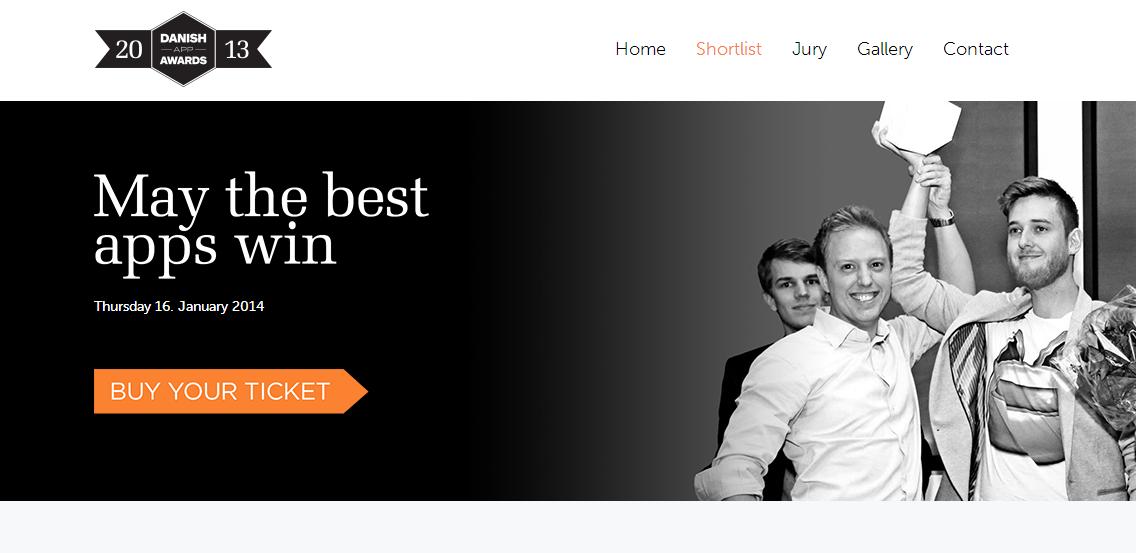 Danish App Awards fejrer de bedste danske apps fra 2013