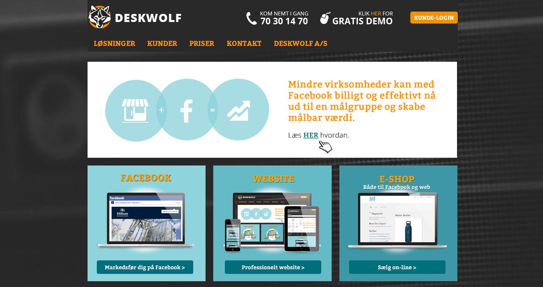 Deskwolf får 7,5 million investering til at accelerere forretningen