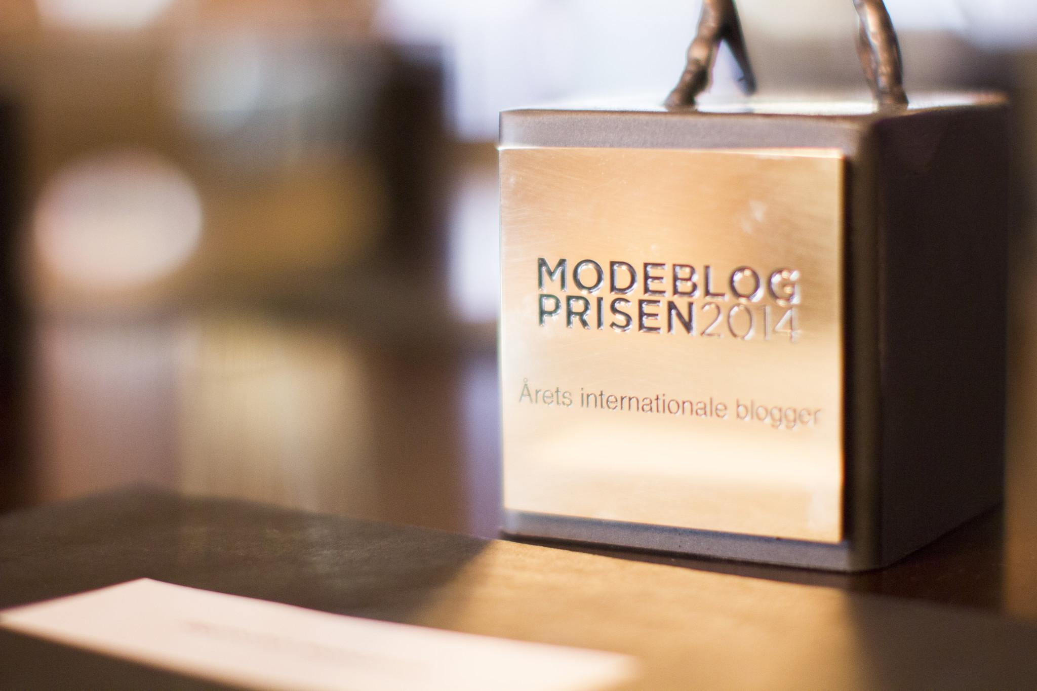Modeblogprisen 2014 hylder en ny levedygtig forretning