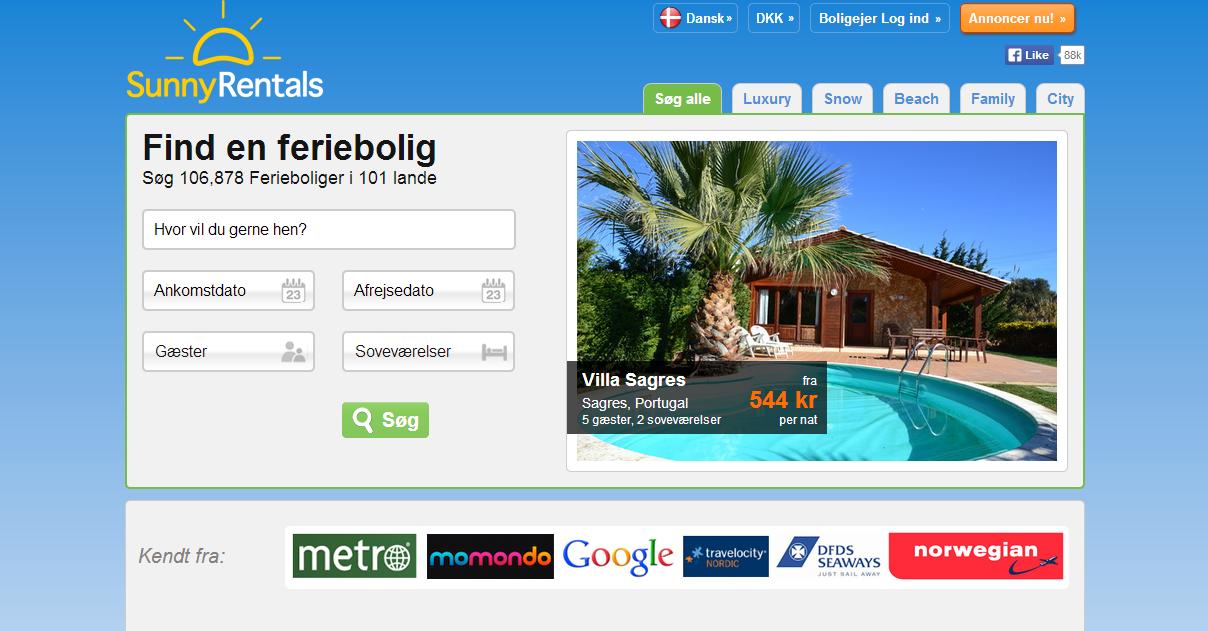 Kan en underskudsforretning være et godt køb? SunnyRentals.com opkøbt af Vacasol.dk