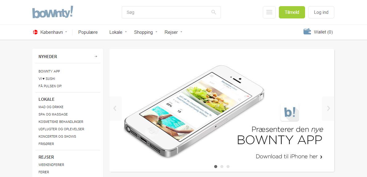 Bownty tager endnu et skridt med iPhone app