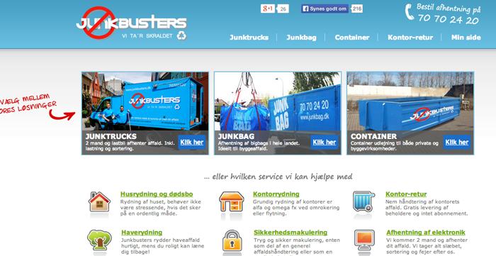 Startup går online og tager skraldet for danskerne