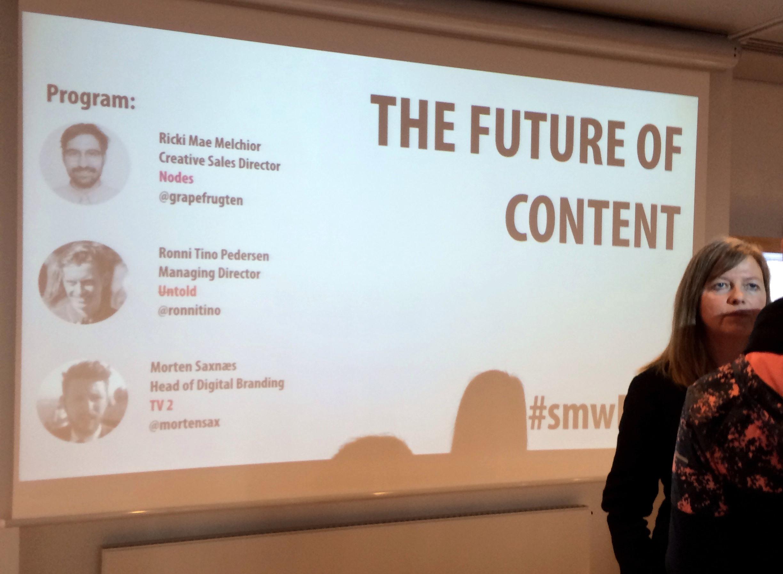 The Future of Content – #smwFOC