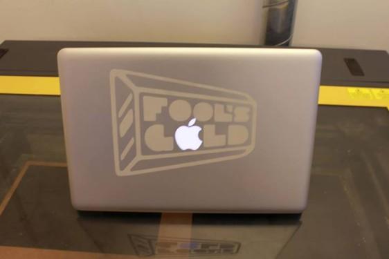 laser cutting. mac