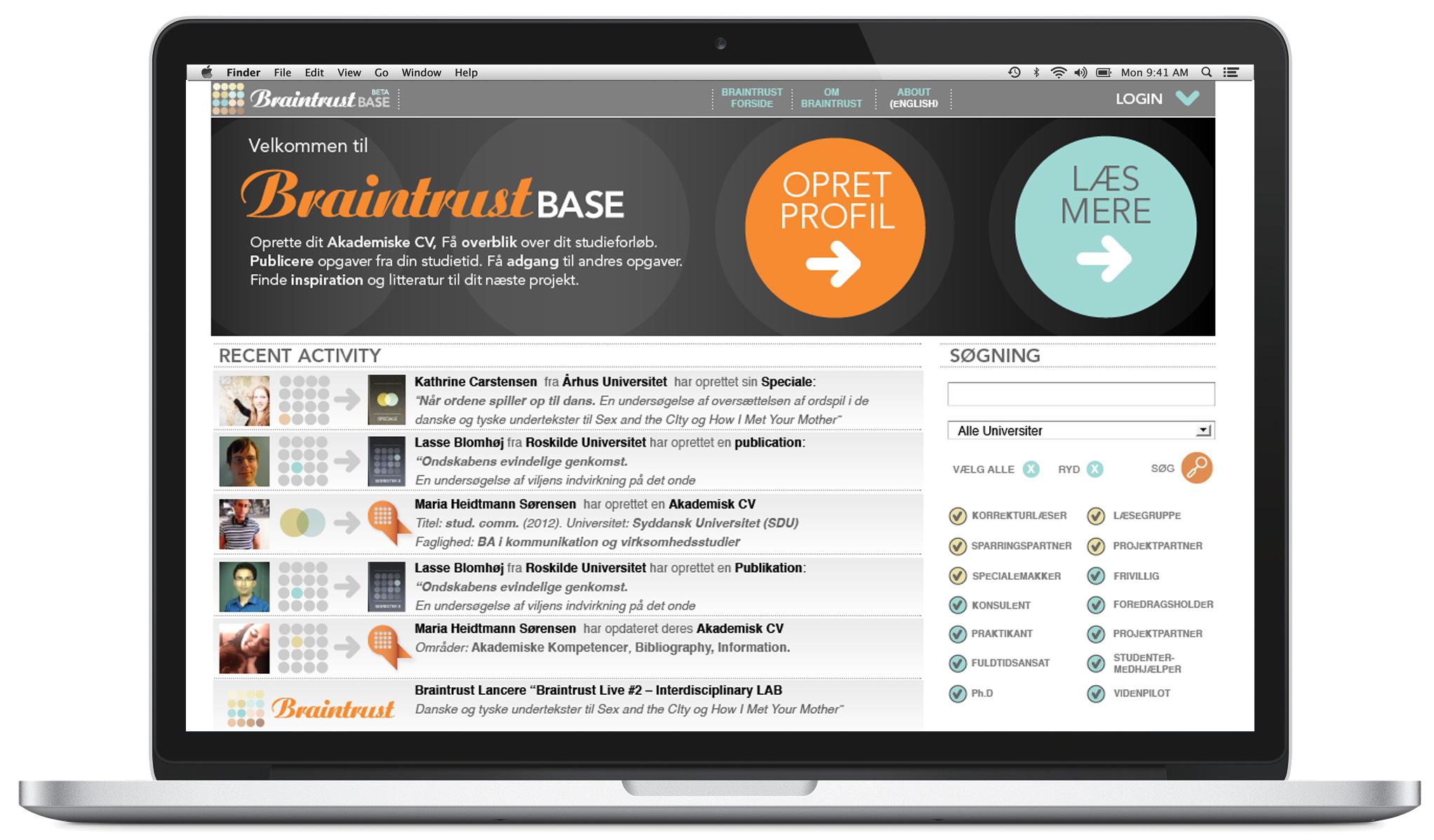 Braintrust Base vil rebrande akademia