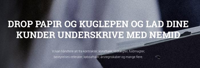 Europæerne skal skrive under med danskudviklet metode