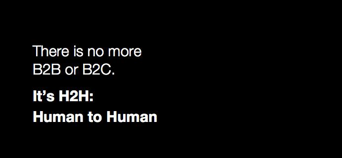 Du kender B2B og B2C – men hvad med H2H?