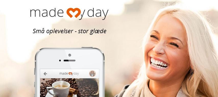 Inviter på kaffeoplevelse med mademyday.dk