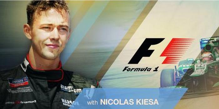 Formel 1 nyheder med Nicolas Kiesa på din smartphone