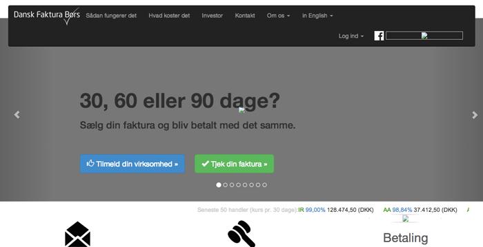 Dansk Faktura Børs sætter alternativ finansiering på Danmarkskortet