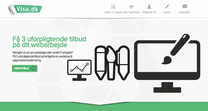 Find hjælp til skarpt webdesign