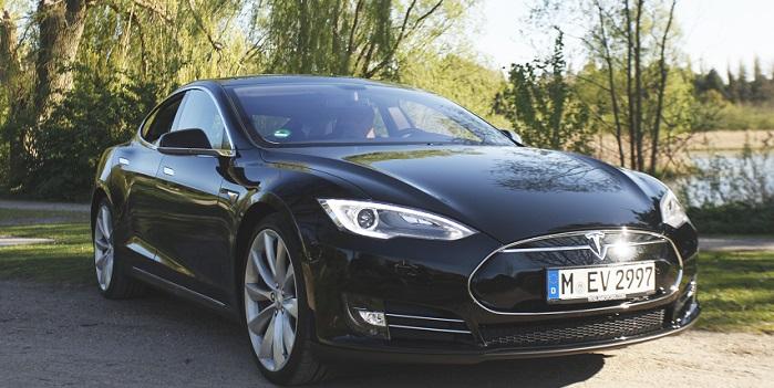 Få en gratis taxitur i vidunderbilen Tesla