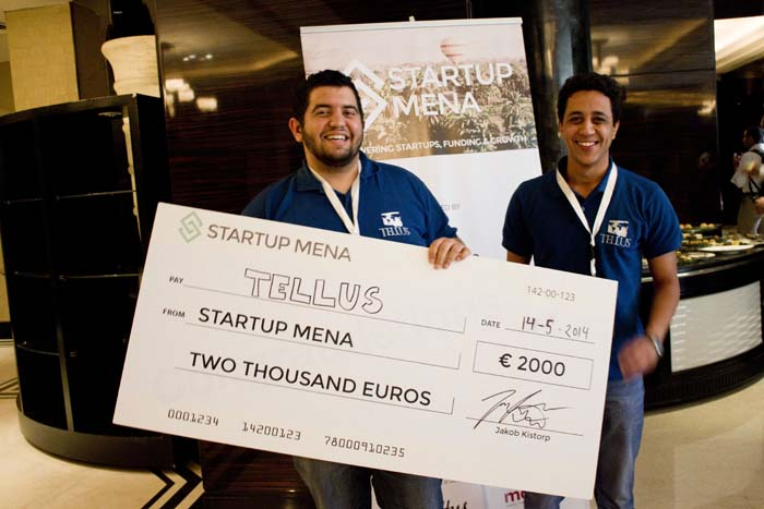 Startup MENA-Investor Lounge_Tellus_winner