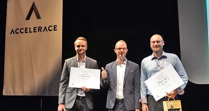 Penneo vinder Best Startup på Accelerace Investor Day