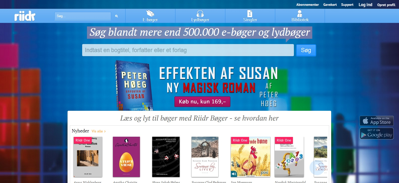 Den digitale platform Riidr satser på opsving af lydbøger