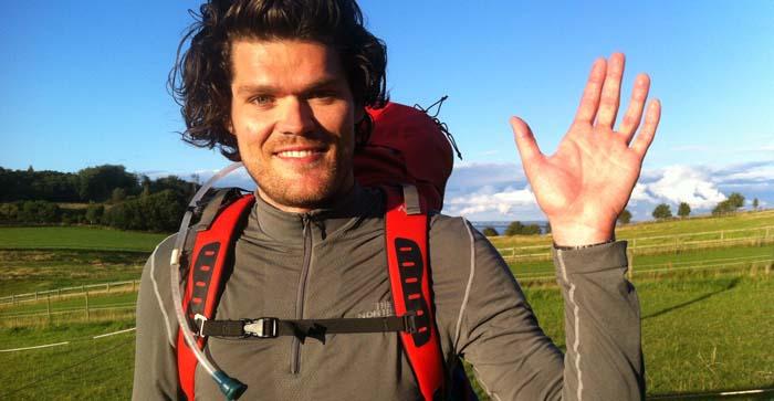 Farvel: Simon Schock er gået bort