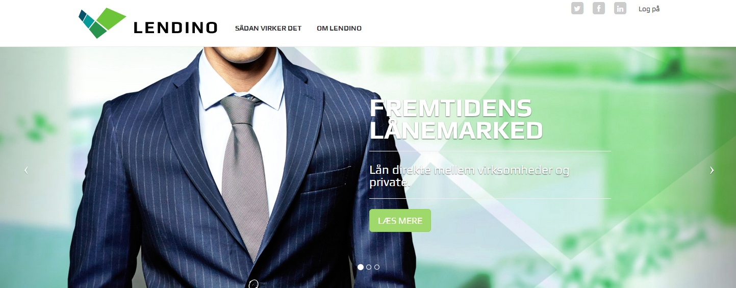 Crowdfunding platformen Lendino er klar til at låne flere penge ud