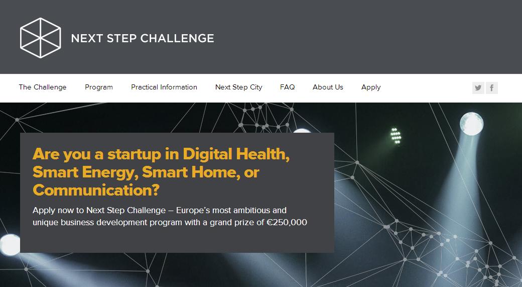 Next Step Challenge udvælger 12 nye startups