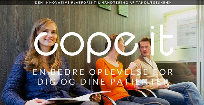 Cope it afhjælper tandlægeskræk med mobil platform