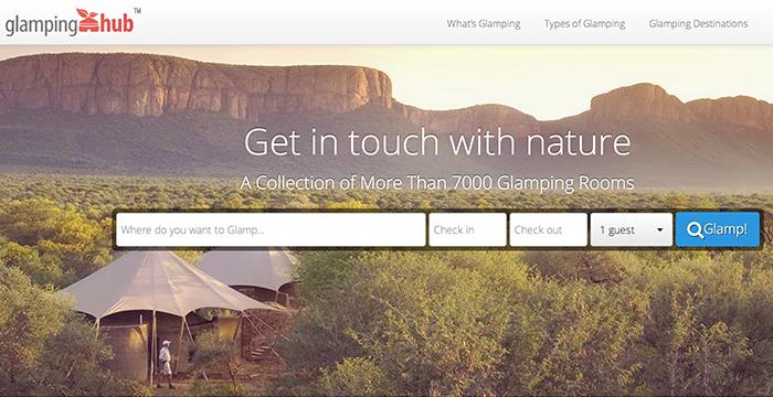 Glamping Hub får investering på 1 million dollars