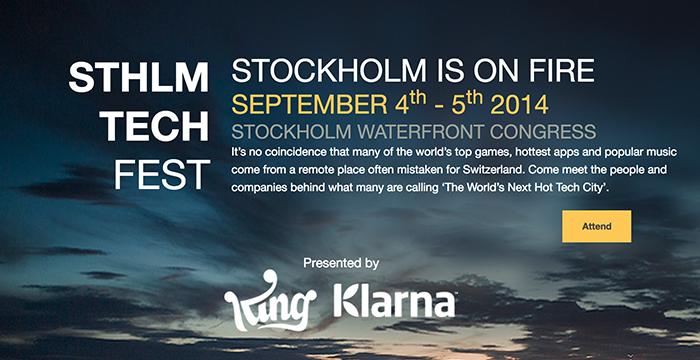 Stor Tech Fest afholdes i Stockholm kommende fredag