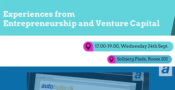 VCIC event om venture kapital med gæster
