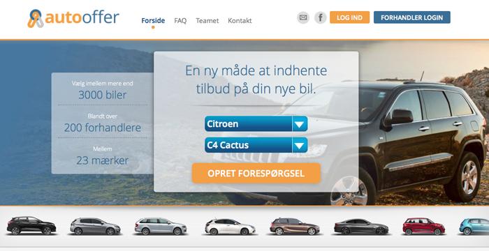 Danskerne køber ny bil via nettet