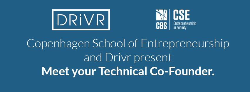 "Drivr og CSE inviterer til ""meet your technical co-founder"""