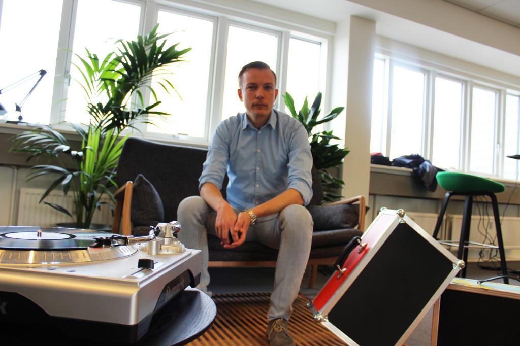 Projektleder for Lydens Hus Søren Berg Jørgensen
