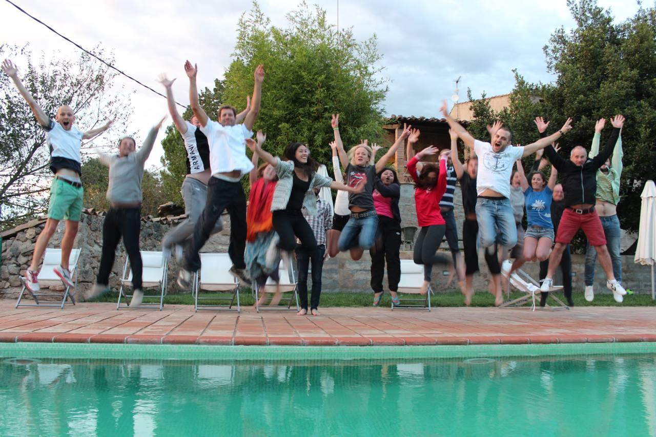 Se videoerne fra den første internationale Workaway Camp