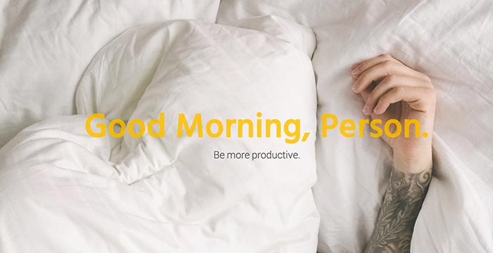 Få en Morning Person og bliv mere produktiv!