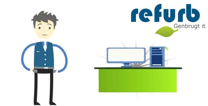 Hos Refurb.dk hitter genbrugt IT blandt erhvervsfolket og private