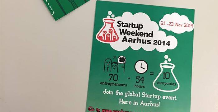 Startup Weekend skaber virksomheder i Aarhus 21-23 november