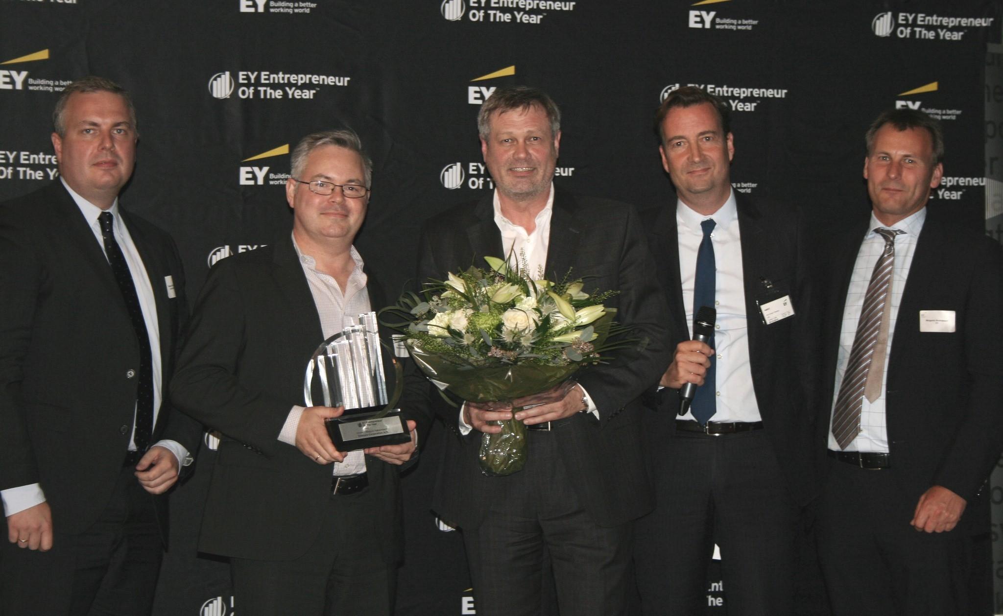 Ernst & Young fejrer Sitecore som vækstvinder i Region København
