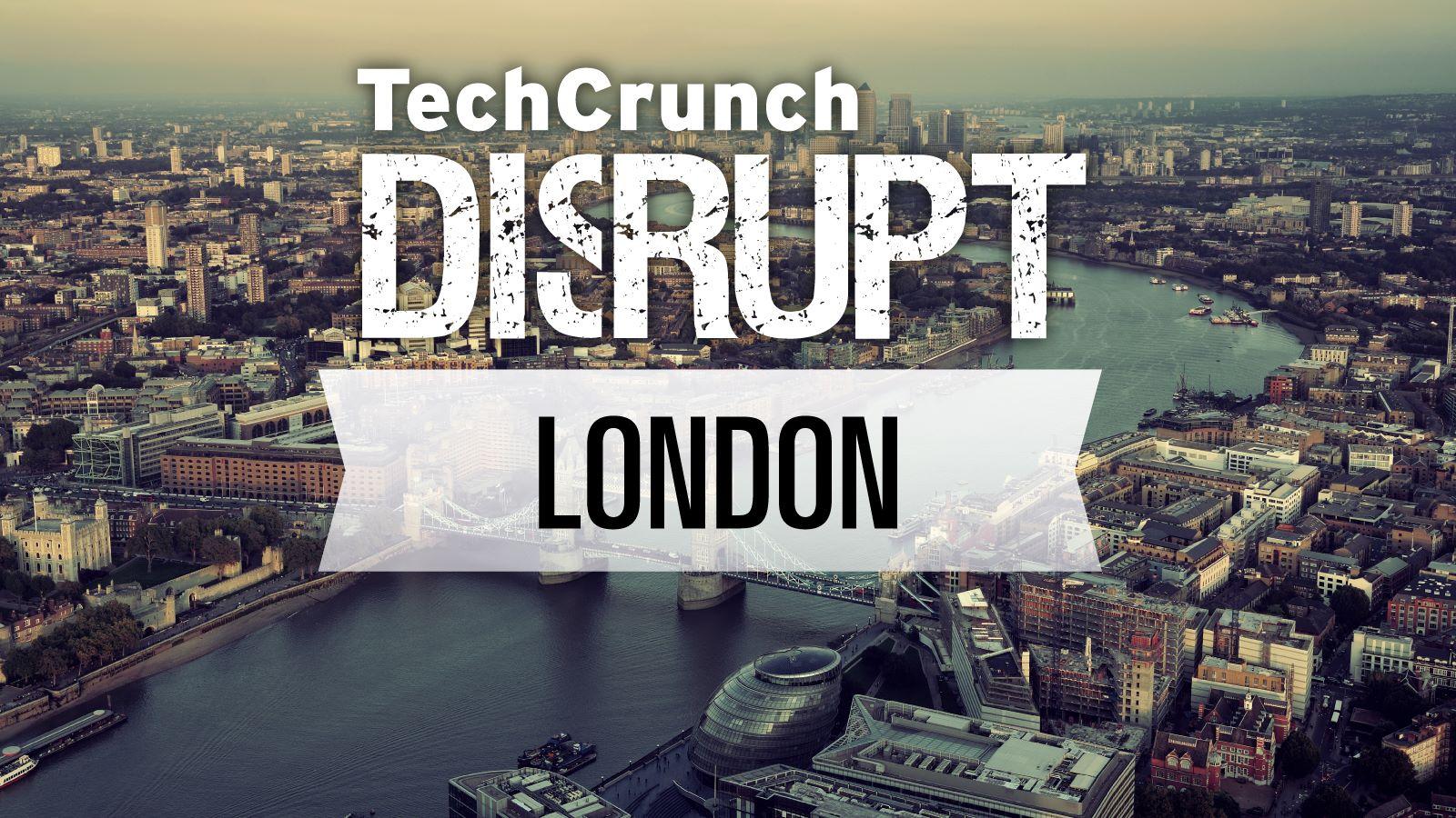 Vind billet til TechCrunch Disrupt Europe