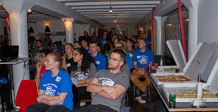 70 mennesker skabte virksomheder på en weekend