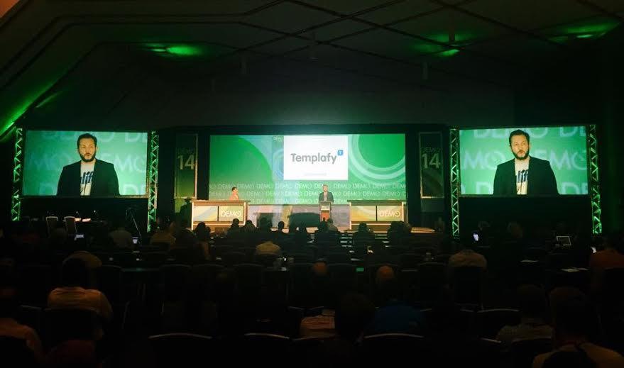 Templafy vinder Traction awardprisen til DEMO i USA