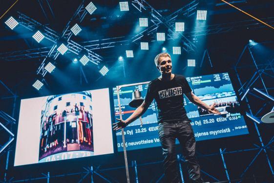 Slush Main Organizer Miki Kuusi. Foto: Sami Valikangas.