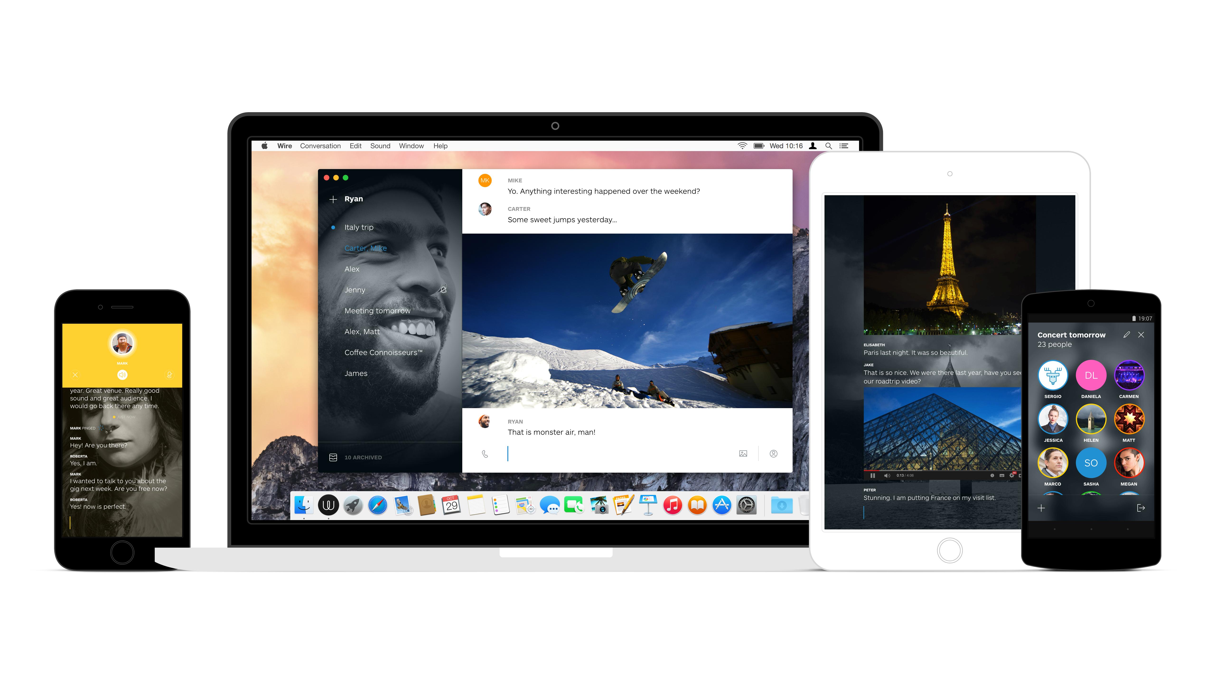Skype-medstifter lancerer app til internetkommunikation