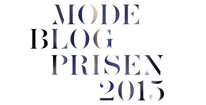 Modeblogprisen 2015