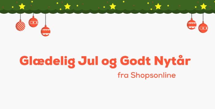 Glædelig jul fra Shopsonline