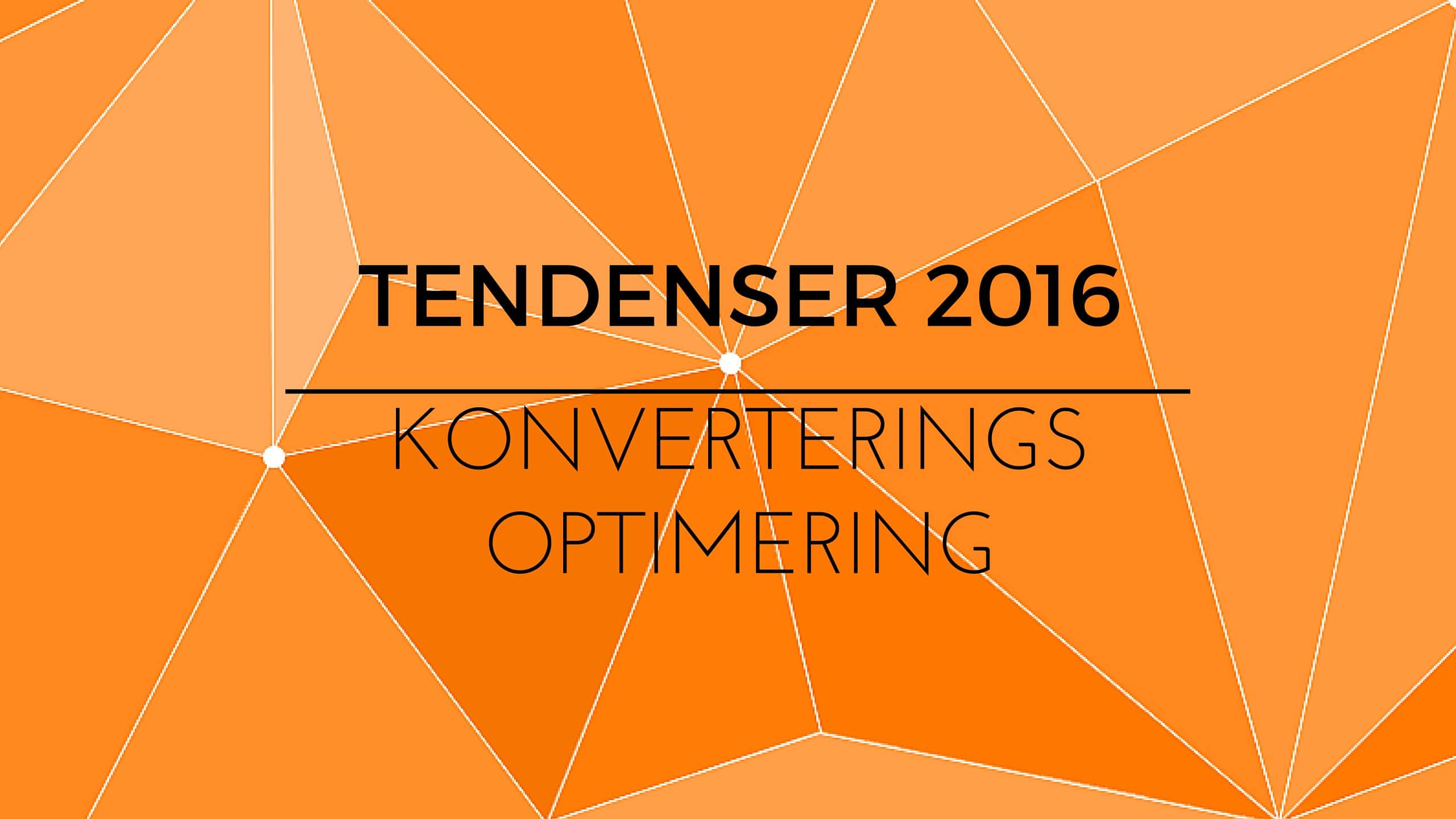 Det siger konverterings-specialisterne om 2016