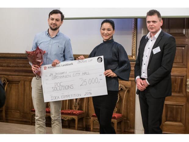 Medtech-startup vinder Venture Cup Idea Competition 2016